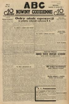 ABC : nowiny codzienne. 1935, nr167