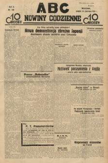 ABC : nowiny codzienne. 1935, nr168