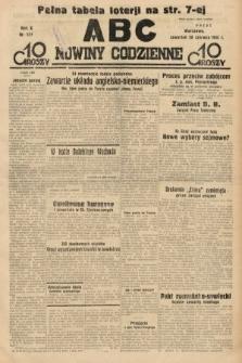ABC : nowiny codzienne. 1935, nr174