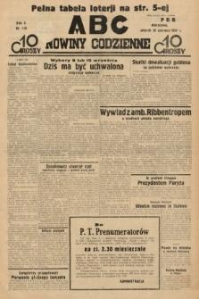 ABC : nowiny codzienne. 1935, nr179