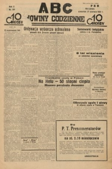 ABC : nowiny codzienne. 1935, nr181