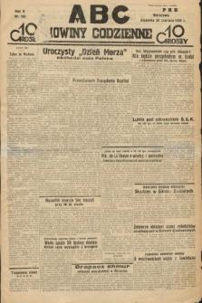 ABC : nowiny codzienne. 1935, nr185