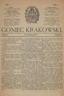 Goniec Krakowski. 1877, nr2