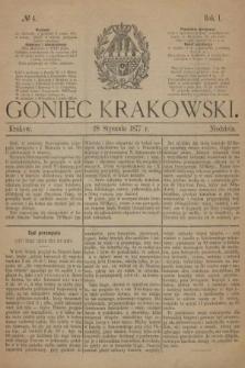 Goniec Krakowski. 1877, nr4