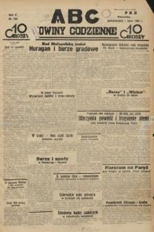 ABC : nowiny codzienne. 1935, nr186