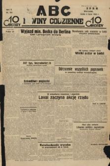 ABC : nowiny codzienne. 1935, nr188