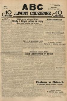 ABC : nowiny codzienne. 1935, nr203