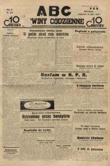 ABC : nowiny codzienne. 1935, nr204