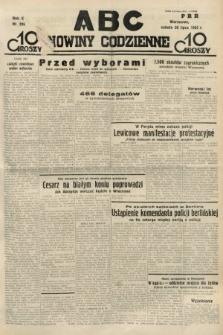 ABC : nowiny codzienne. 1935, nr206