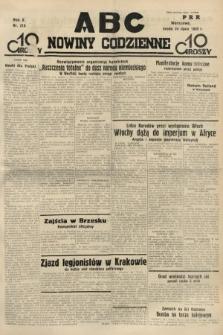 ABC : nowiny codzienne. 1935, nr210