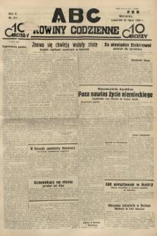 ABC : nowiny codzienne. 1935, nr211