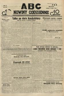 ABC : nowiny codzienne. 1935, nr217