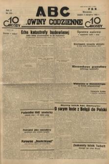 ABC : nowiny codzienne. 1935, nr219
