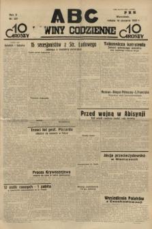 ABC : nowiny codzienne. 1935, nr227
