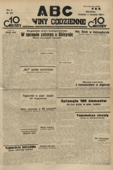 ABC : nowiny codzienne. 1935, nr228