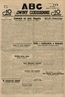 ABC : nowiny codzienne. 1935, nr230
