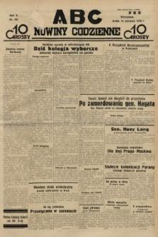 ABC : nowiny codzienne. 1935, nr231