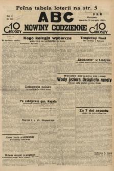 ABC : nowiny codzienne. 1935, nr232