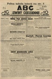 ABC : nowiny codzienne. 1935, nr234