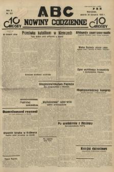 ABC : nowiny codzienne. 1935, nr237
