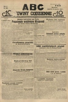 ABC : nowiny codzienne. 1935, nr239