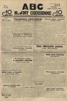 ABC : nowiny codzienne. 1935, nr240