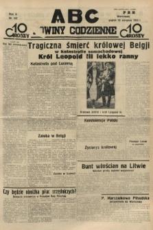 ABC : nowiny codzienne. 1935, nr247
