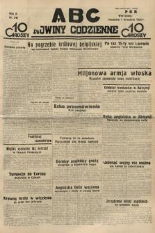 ABC : nowiny codzienne. 1935, nr249