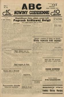 ABC : nowiny codzienne. 1935, nr252