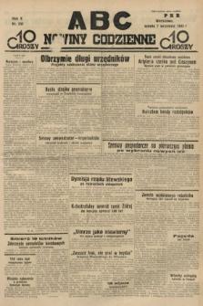 ABC : nowiny codzienne. 1935, nr255