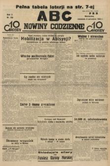 ABC : nowiny codzienne. 1935, nr256