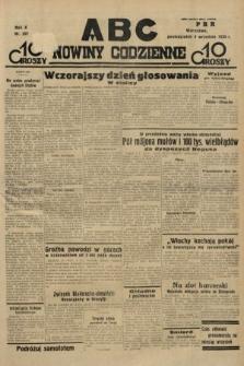 ABC : nowiny codzienne. 1935, nr257