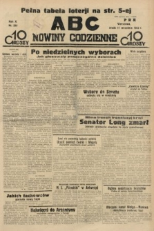ABC : nowiny codzienne. 1935, nr259