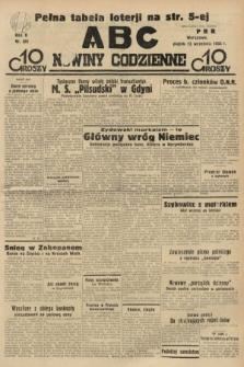 ABC : nowiny codzienne. 1935, nr261