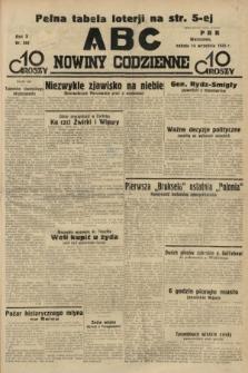 ABC : nowiny codzienne. 1935, nr262