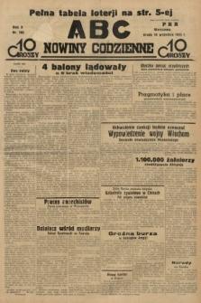ABC : nowiny codzienne. 1935, nr266