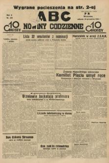 ABC : nowiny codzienne. 1935, nr272