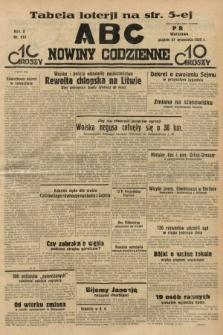 ABC : nowiny codzienne. 1935, nr275