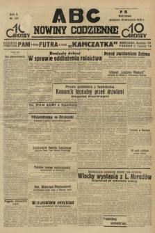 ABC : nowiny codzienne. 1935, nr277