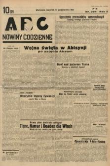 ABC : nowiny codzienne. 1935, nr296