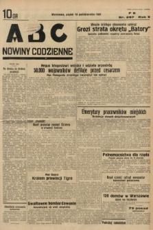 ABC : nowiny codzienne. 1935, nr297