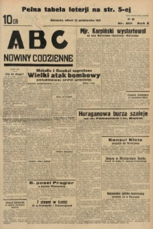 ABC : nowiny codzienne. 1935, nr301