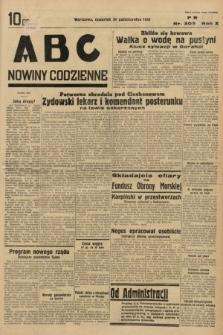 ABC : nowiny codzienne. 1935, nr303