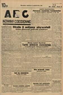 ABC : nowiny codzienne. 1935, nr306