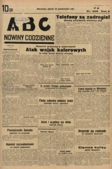 ABC : nowiny codzienne. 1935, nr308
