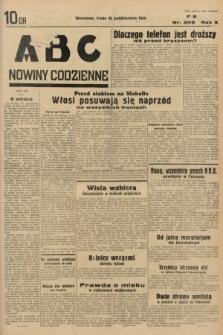 ABC : nowiny codzienne. 1935, nr309