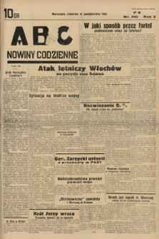 ABC : nowiny codzienne. 1935, nr310