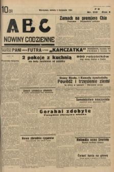 ABC : nowiny codzienne. 1935, nr312