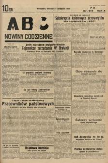 ABC : nowiny codzienne. 1935, nr313