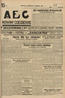 ABC : nowiny codzienne. 1935, nr[315] [ocenzurowany]